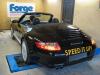 Autokorbel Porsche 911 teljesítménymérés