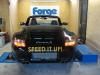 Autokorbel Porsche Carrera teljesítménymérés